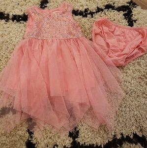 Cat & Jack Toddler Girls Dress- Size 12 months
